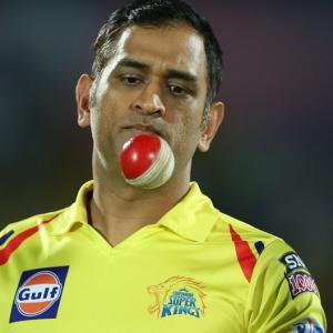 Will Dhoni play against Delhi Capitals?