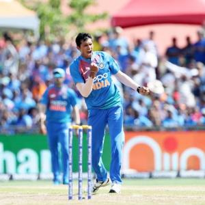 Kohli hails Saini's 'raw talent and pace'
