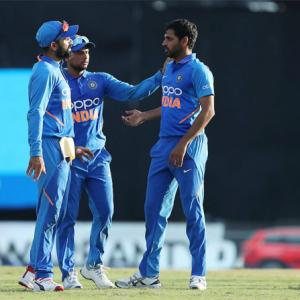 2nd ODI PICS: Kohli, Bhuvi star in India's win vs WI