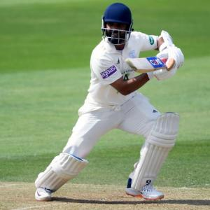 Rahane, Vihari hit fifties in drawn warm-up game