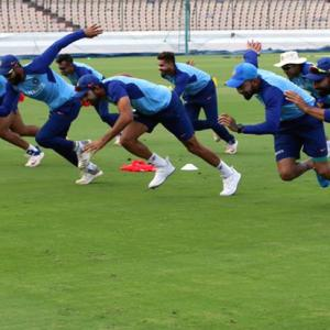 Team India's new fitness drill to increase speed
