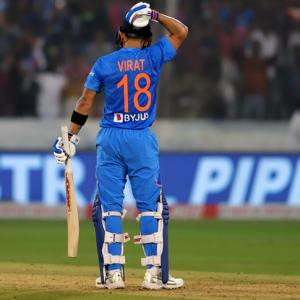 How Kohli masterclass secured India's win against WI