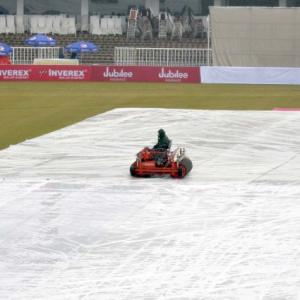 Pak vs SL, 1st Test: No play on day four