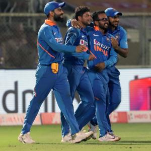 PHOTOS: Clinical India thrash Windies to level series