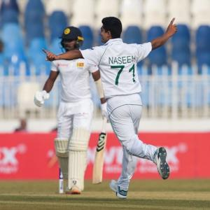 2nd Test: Pakistan down SL by 263 runs to win series
