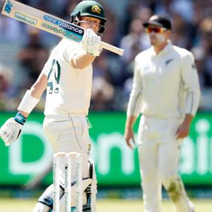 Boxing Day Test PIX: Smith strikes a blow against NZ