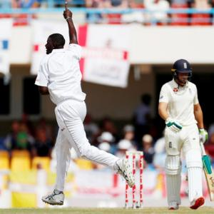 2nd Test: Windies dismiss England for 187 in first innings