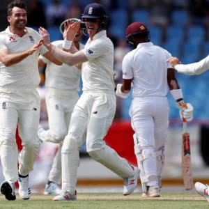 Chase century in vain as England thrash Windies
