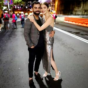 PIX: Kohli-Anushka's special New Year celebrations!