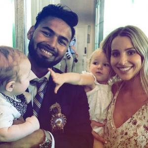 When Pant turned 'babysitter' for Tim Paine