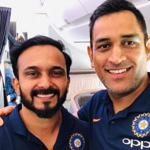 PIX: Dhoni, Rohit off to Australia for ODI series