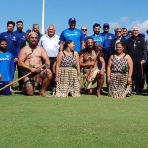 Watch! Traditional Maori welcome for Team India