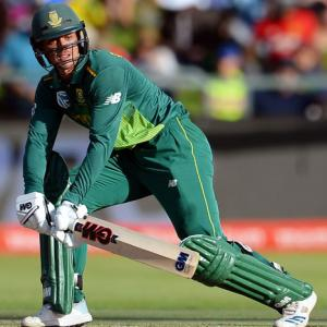 De Kock bludgeons South Africa to series win over Pakistan