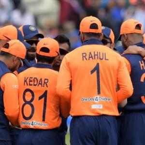 Mehbooba blames orange jersey for India's defeat
