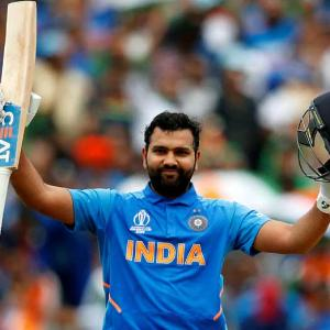PIX: Rohit's fourth ton seals semis berth for India