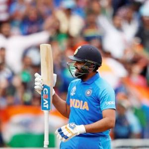 Rohit is 2019 World Cup's leading scorer after 4th ton