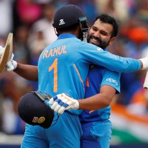 'Rohit's batting on a different planet'