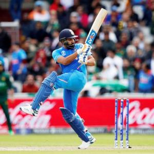 It's World Cup glory, not records, that matters: Rohit