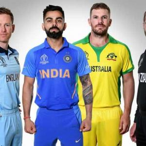 World Cup semis: How India, England, Aus, NZ stack up