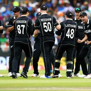 PIX: New Zealand stun India to reach World Cup final