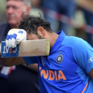 My heart is heavy: Rohit after semis loss