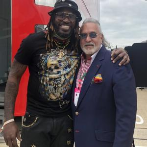 Gayle posts pic with Mallya; internet can't keep calm