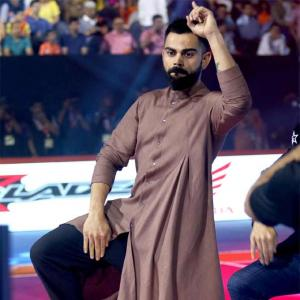 PHOTOS: Virat Kohli does the 'ThighFi'