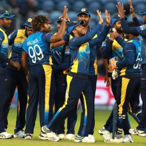 World Cup PIX: Sri Lanka fight back to beat Afghanistan