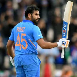 PHOTOS: Rohit, Chahal excel as India cruise past SA