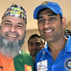 This Pak-born fan gets match tickets from Dhoni