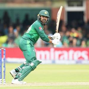 PICS: Pakistan keep semis hopes alive after SA rout