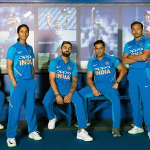 Check out Team India's World Cup jersey