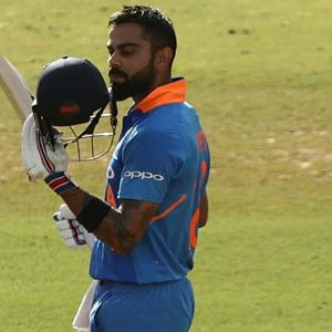 Kohli on his 40th ODI hundred...