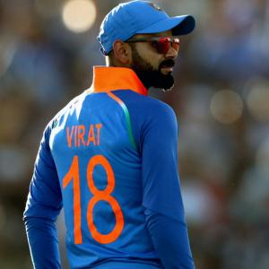 Test players to have numbered jerseys: Kohli 18