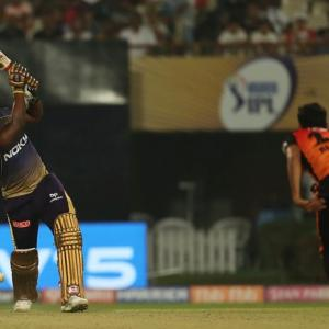 PIX: Russell steals dramatic win for KKR against SRH