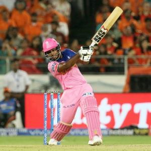Samson's ton in vain as Sunrisers post first win