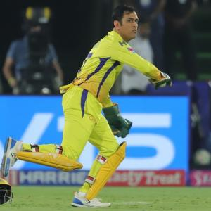 Another milestone for Dhoni