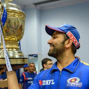 WATCH: Rohit's victory rap to celebrate IPL win