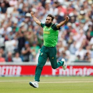 Tahir first spinner to bowl first over in World Cup