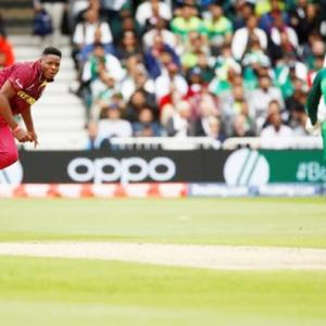 PHOTOS: Windies pacers send Pakistan crashing