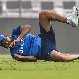 Rohit 'fit and available' for Delhi T20I: BCCI