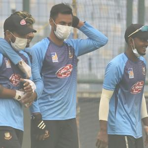 'Focussing on cricket now, not pollution'