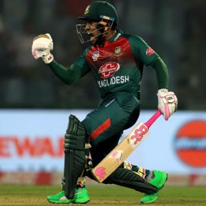 PHOTOS: Rahim helps Bangladesh end losing run vs India