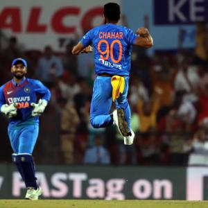 PHOTOS: India vs Bangladesh, 3rdT20I