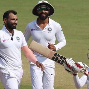 Shami leads rout, India pummel B'desh inside three days