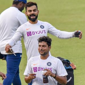 WATCH: Kohli & Co all set for Day/Night Test