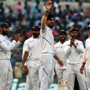 PHOTOS: Five-star Ishant helps India dominate Day 1