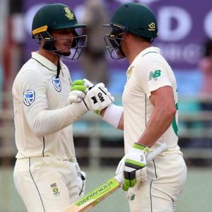 Proteas send message of intent for rest of India series