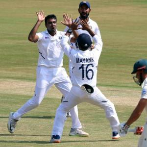 Ashwin equals Murali's record; jt fastest to 350 wkts