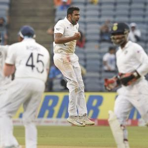 Ashwin is happy to be bowling again in Tests